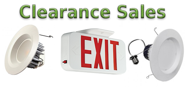 LED Clearance Sales!