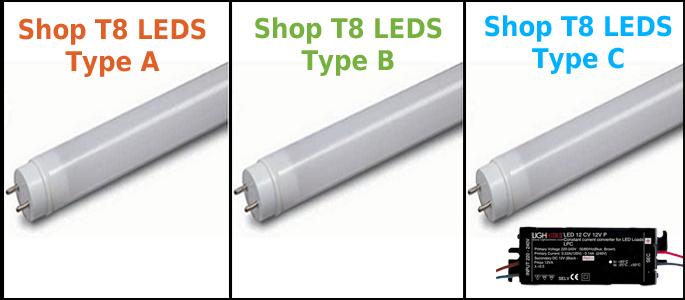 Which type of LED T8 should you buy?