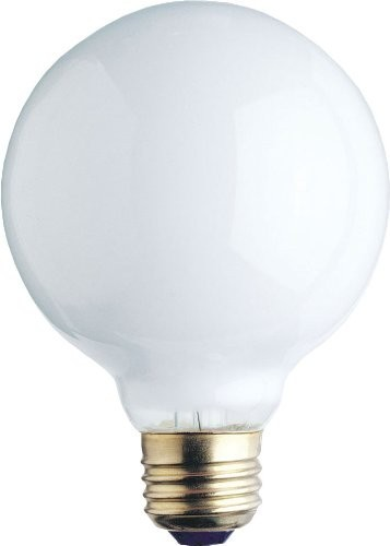 Westinghouse 0312300 60G25/WH Incandescent 60W G25 Globe