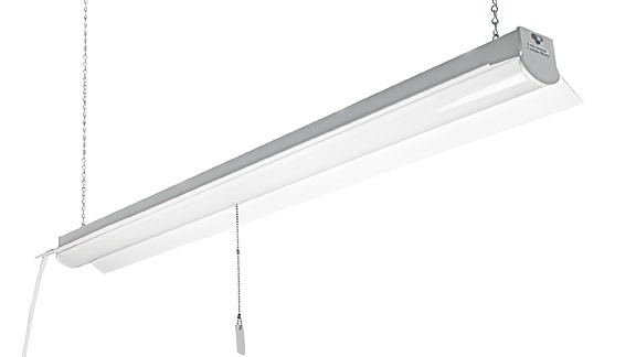 ETI 54103162 4' Linkable LED Shop Light Fixture - 35W 4000K - 1/Ea