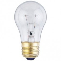 40A15/2 40 Watt 130 Volt A15 E26 Base Incandescent Appliance Bulb