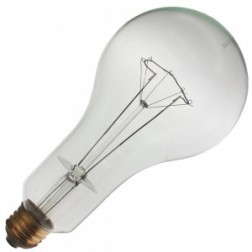 300PS30/MED/CL 300W PS30 120V Incandescent A Lamp