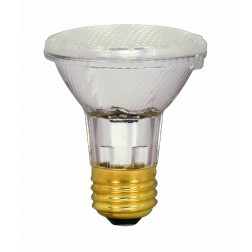 Satco S2232 39PAR20/HAL/XEN/NFL/120V 39W Halogen PAR20 Narrow Flood