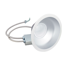 "Green Creative 9.5"" LED Commercial Downlight 97706 48CDL9.5G4DIM/830/277V 48W 3000K - 1/Ea"