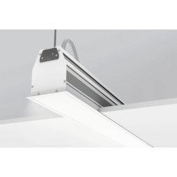 "Ketra L4R Linear Recessed LED Fixture 4"" Wide Tunable Color Changing"