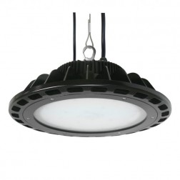 "Litetronics LED High Bay Round Fixture 16"" IP65 DLC"