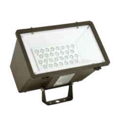 Hubbell Outdoor Lighting Miniliter LED Flood - 1/Ea