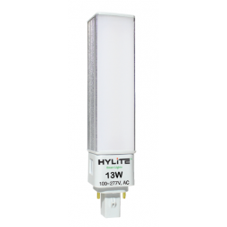 HyLite 77036 LED 4-Pin PL Replacement Bulb 13W HL-G24F-13W-35K - 1/Ea