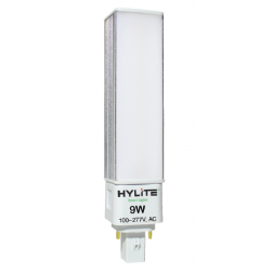 HyLite 77032 LED 4-Pin PL Replacement Bulb 9W HL-G24F-9W-35K - 1/Ea