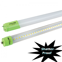 HyLite Clear/Frosted 8' 36W LED T8 Tube 5000K - HL-T8-8C-36W-50K - 1/Ea