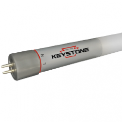 Keystone KT-LED25T5HO-48GC-830-D Direct Drive 4' 25W LED T5 Tube 3000K