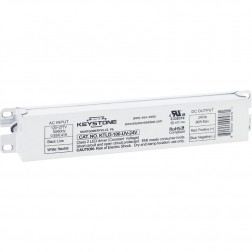 Keystone KTLD-2LT8-UV-12C-VDIM 2-Lamp Dimming Driver External LED Tubes