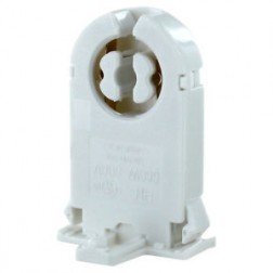 Non-Shunted Socket for T8 T12 Tubes - Medium Bi-Pin G13 Tombstone Sockets
