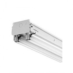 3' 2-Lamp LED Strip Fixture - Lamps Not Included