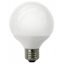 TCP LED5G25D30KF Dimmable LED G25 5W Frosted Replaces 40W 3000K