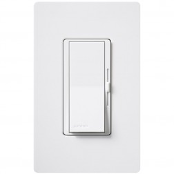 Lutron Diva DVELV-300P 300W 0-10 Low Voltage Single-Pole Dimmer - 1/Ea