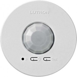 Lutron LRF2-OCR2B-P-WH Radio Powr Savr Wireless Occupancy Sensor Ceiling Mount