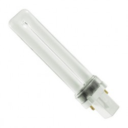 GE F9BX/SPX27 2 Pin Single Tube 9 Watt 2700K Compact Fluorescent Bulb