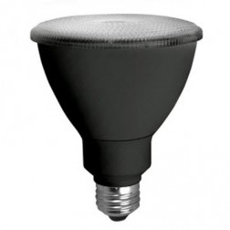 TCP LED14P30D27KFLB 14W LED PAR30 2700K 40° Flood Black Housing