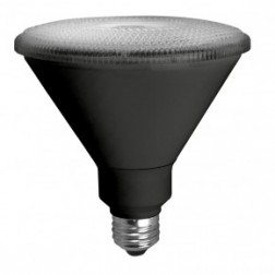 TCP LED17P38D30KFLB Dimmable 17W LED PAR38 3000K 40° Flood Black Housing