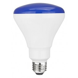TCP RLBR3010WBL Blue LED BR30 Lamp 10W Non-Dimmable