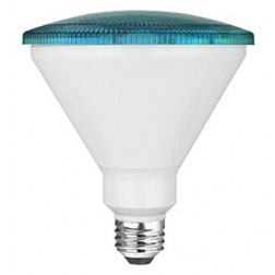 TCP RLP3814BL Blue LED Colored PAR38 Lamp 14W Non-Dimmable