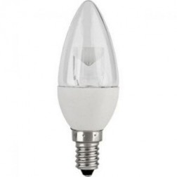 TCP LED5E12B1127K Dimmable LED Chandelier Bulb 5W 2700K Blunt Tip