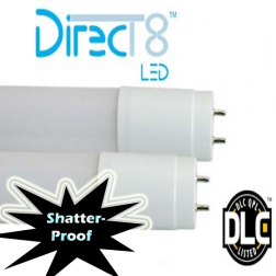 4' TCP LED15T84IS50K DirecT8 LED T8 for Instant Start Ballasts 5000K - 1/Ea