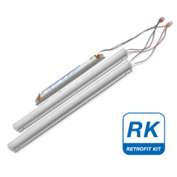 Everline LED Retrofit Kit for 4ft 4-pin fluorescent luminaires - 1/Ea