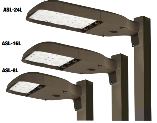 Hubbell Outdoor Lighting Adorable Hubbell Outdoor Lighting ASL LED Series AreaSiteRoad Lighter
