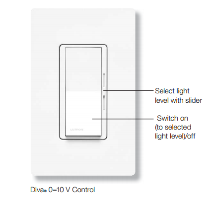 diva dvstv lutron diva dvstv 0 10v dimmer low voltage controller lutron dvstv wh wiring diagram at n-0.co