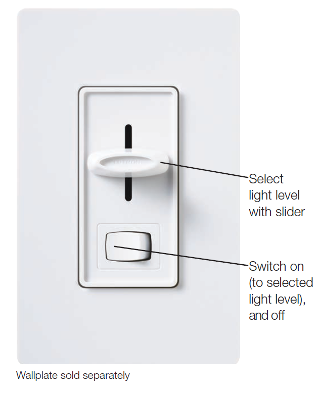 Lutron Skylark Scl 153p 150w Dimmable Cfl Led Dimmer