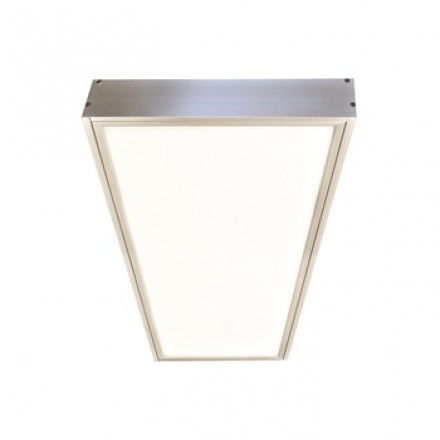 Surface Mounting Frame For Nora N Spec 1x4 Edge Lit Led Flat Panel Fixture