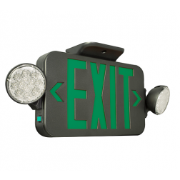 Compass CCG Green LED Combination Emergency Exit Light