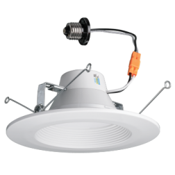 """ETI 53186142 5""""/6"""" LED Downlight Dimmable Color Preference 11W 2700K-4000K"""