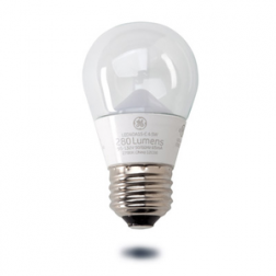 GE 34051 LED4DA15-C3/827 Clear LED A15 4W 2700K 40W Equivalent Dimmable
