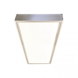 Surface Mounting Frame for Nora N-Spec 1x4 Edge-Lit LED Flat Panel Fixture