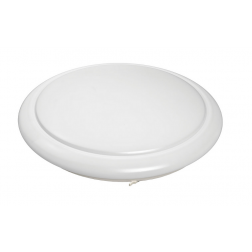 "ETI 24"" Dimmable LED Round Flushmount 40 Watt 4000K 120V 54614142"