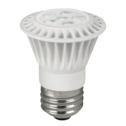 TCP LED7P1624KFL Dimmable 7W LED PAR16 2400K 40° Flood