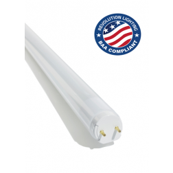 Revolution Lighting 2' 8W LED T8 Tubes Buy American Act Compliant