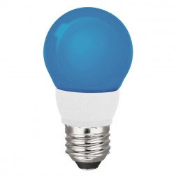 TCP RLA155BL Blue LED Colored A15 Lamp 5W Non-Dimmable