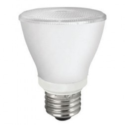 TCP LED8P20D41KFL Dimmable 8W LED PAR20 4100K 40° Flood