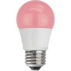 TCP RLA155P Pink LED Colored A15 Lamp 5W Non-Dimmable