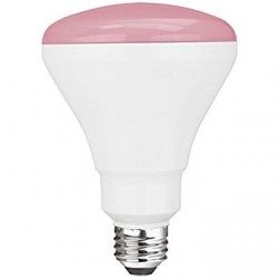 TCP RLBR3010WP Pink LED BR30 Lamp 10W Non-Dimmable