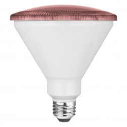 TCP RLP3814P Pink LED Colored PAR38 Lamp 14W Non-Dimmable