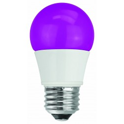 TCP RLA155PL Purple LED Colored A15 Lamp 5W Non-Dimmable