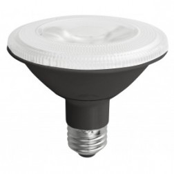 TCP LED12P30SD27KFLB Dimmable 12W LED PAR30 2700K 40° Flood Short Neck Black
