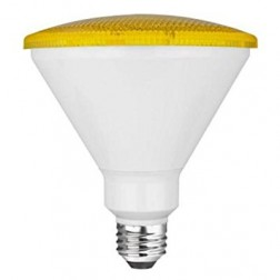 TCP RLP3814Y Yellow LED Colored PAR38 Lamp 14W Non-Dimmable