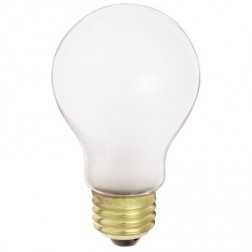 100A19/RS/Tuff Coat Shatter Resistant Incandescent 100W A19 Lamp
