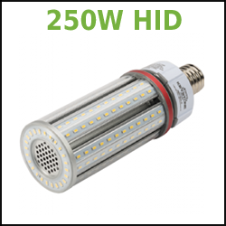 250W HID Replacement LED Omni Corn Cob
